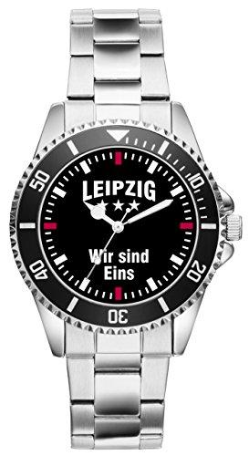Leipzig Geschenk Artikel Idee Fan Uhr 2388