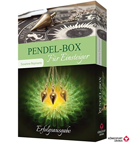 Pendel-Box. Für Einsteiger (Set mit Buch und Messingpendel)