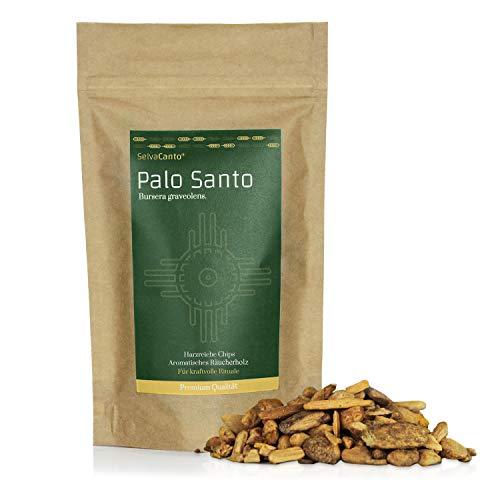 SelvaCanto® - Palo Santo Chips - heiliges Holz | Ideal für kraftvolle Zeremonien und befreiende Reinigungsrituale | aromatisches Räucherholz | 40g | (22,38€/100g)