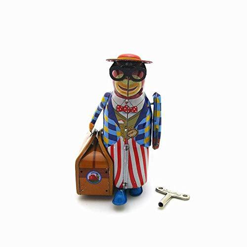 Sebasty deko Wohnzimmer Kreative Geschenke Spielzeug Kunsthandwerk Retro-Nostalgie Personifizierte Dekorativen Schmiedeeisen Tier Ornamente (7 * 16 * 12cm)