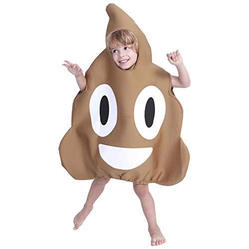 bearivt Halloween Kostüm Sponge Poop Party Spielzeug Set Lustige Kostüme für Kinder