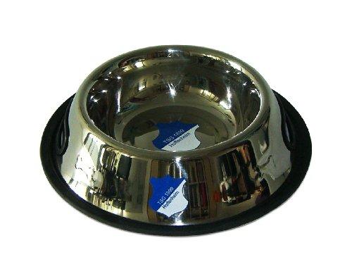 Hundefressnapf aus Edelstahl, Außendurchmesser: 24 cm, Innendurchmesser: 15 cm
