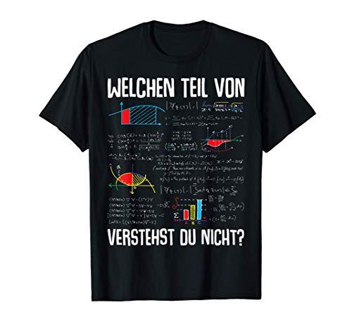 Mathematik Algebra Abitur Schulabschluss Physik Geschenk T-Shirt
