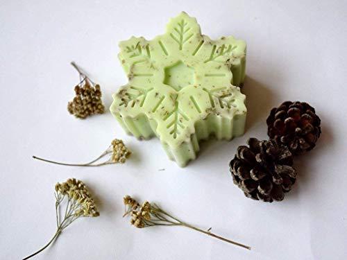 Weihnachten Seife Schneeflocke