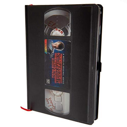 Stranger Things VHS Season One A5 Premium Notebook