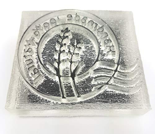 Seifenstempel aus Acryl Handmade Seife sieden (100% Handmade)