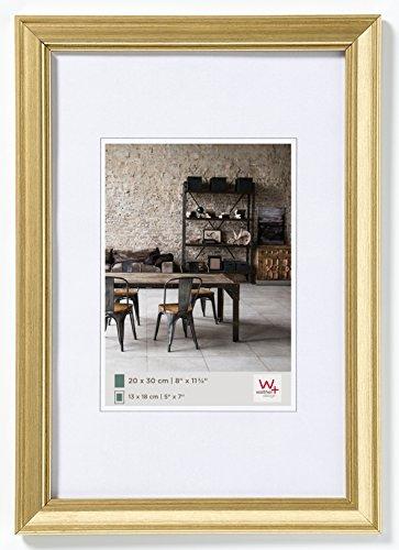 Walther design JA050G Bilderrahmen Lounge, 40 x 50 cm, gold