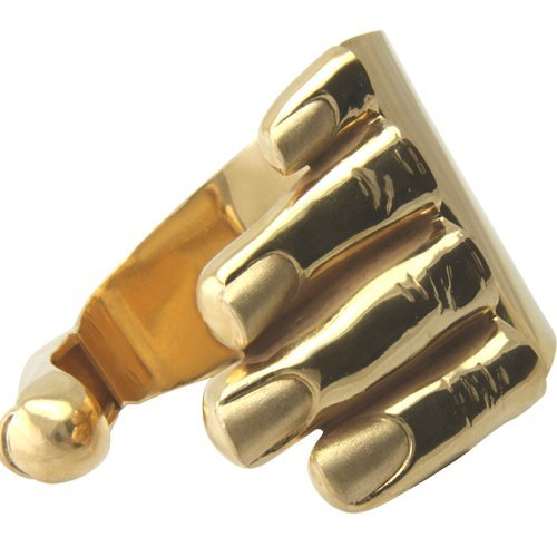 Design Armspange 'Hand' (Sterlingsilber 925) Silberarmspange hochwertig vergoldet