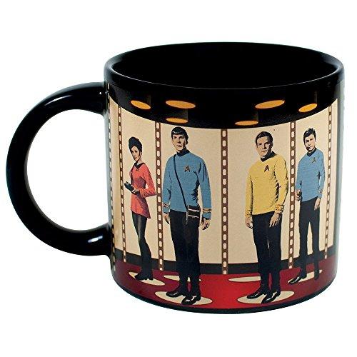 Tasse Star Trek Transporter mit Thermoeffekt, 350ml