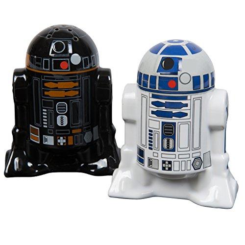 Star Wars Droids - Salz- und Pfefferstreuer Gewürzspender schwarz/weiß