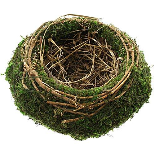 SIDCO Osternest Moos Ostern Natur Moosnest Eiernest Osterkorb Ostereier Nest Deko Korb