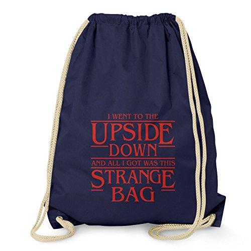 NERDO Upside Down Strange Bag - Turnbeutel, navy
