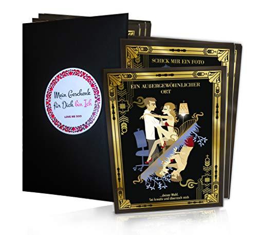 Coupons für Sie & Ihn – 12 Deluxe Sex Gutscheine für Paare   Erotik Geschenk für Männer und Frauen   Geschmackvolle Liebesgutscheine, Coupons & Vouchers   Partner & Liebe Karten-Spiel