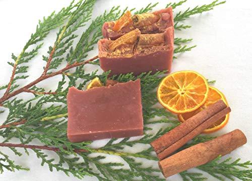 Wintertraum Seife, Duschseife, vegan, ohne Palmöl, handgemachte Naturseife von kleine Auszeit Manufaktur