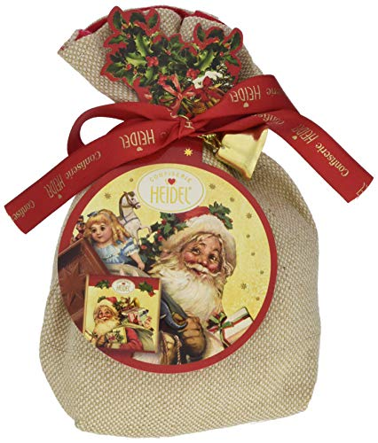 Confiserie Heidel Weihnachts-Nostalgie Geschenk Säckchen, 1er Pack (1 x 158 g)