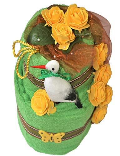 Handtuchtorte - Geschenkkorb - Mitbringsel Handtuch Geburtstag Geburt