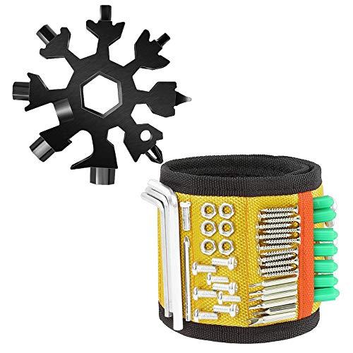 NXM Geschenke Für Männer Magnetarmband Magnetisches Armband Für Handwerker Werkzeug - Ostern Geschenke Männer Geschenke, Gadgets Für Männer Magnetarmband Vatertagsgeschenk,Gelb