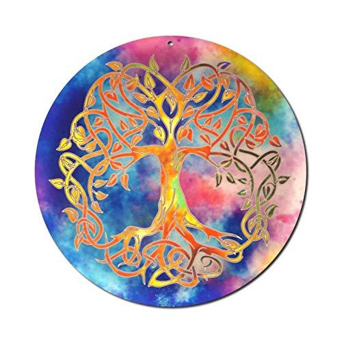 Sonnenfänger'Baum des Lebens' Nr 20. Geschenkidee Geburtstag · Danke Geschenk · Symbol der Liebe · Glücksbringer Lebensbaum · Weltenbaum Fenster Hängedeko · Tree of Life Suncatcher Acrylglas