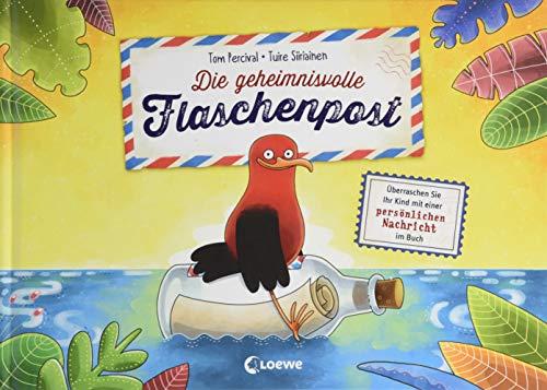 Die geheimnisvolle Flaschenpost - Überraschen Sie Ihr Kind mit einer persönlichen Nachricht im Buch: Personalisierbares Kinderbuch