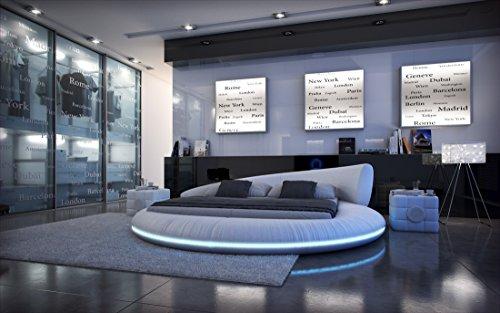 Sofa Dreams Wasserbett Mezzo LED komplett mit sämtlicher Technik und Matratze 180 x 200 cm - 200 x 220 cm