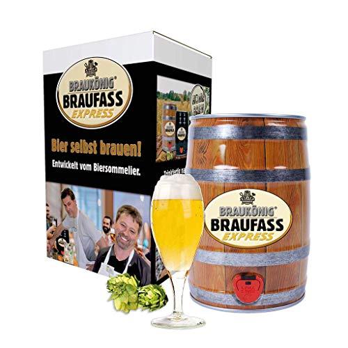 BRAUKÖNIG ® Braufass Express - Holzfass