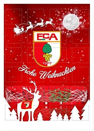 FC Augsburg Adventskalender / Weihnachtskalender Motiv FCA