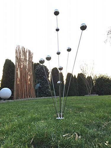 Gartenstecker'Simply2013' Edelstahlstele/Skulptur