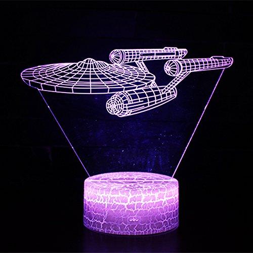 3D Illusion Lampe NHSUNRAY 7 Farben LED Touch Tischleuchte mit Fernbedienung Nachtlicht Für Schlafzimmer Home Decoration Hochzeit Geburtstag Weihnachten Valentine Geschenk Romantische