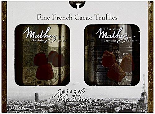 2x500g Chocolat Mathez Fine French Cocao Powdered Chocolate Truffles Fantaisie