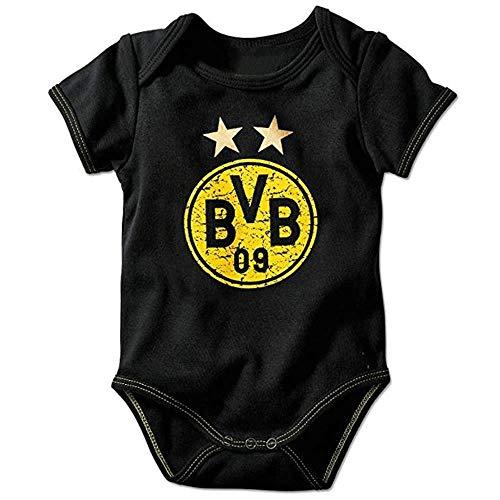 BVB Borussia Dortmund Babybody Emblem. Den Nachwuchs früh fördern. Und sich Talente warm halten. So kann man erfolgreich wachsen