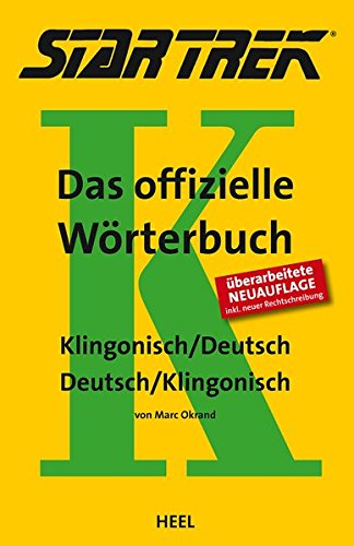 STAR TREK® – Das offizielle Wörterbuch: Klingonisch - Deutsch / Deutsch - Klingonisch