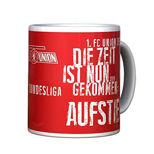 1. FC UNION Berlin Tasse, Becher Aufstieg - Rot