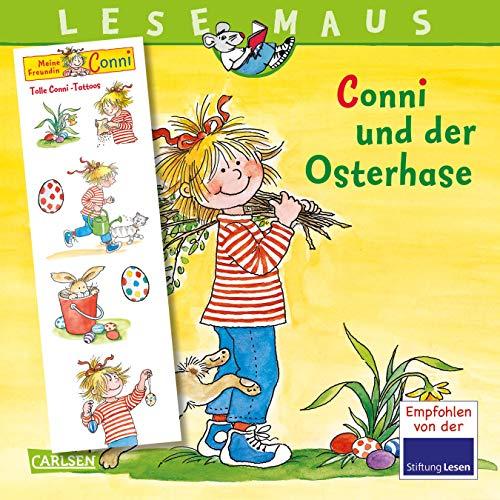 LESEMAUS 77: Conni und der Osterhase: mit tollen Conni-Tattoos (77)