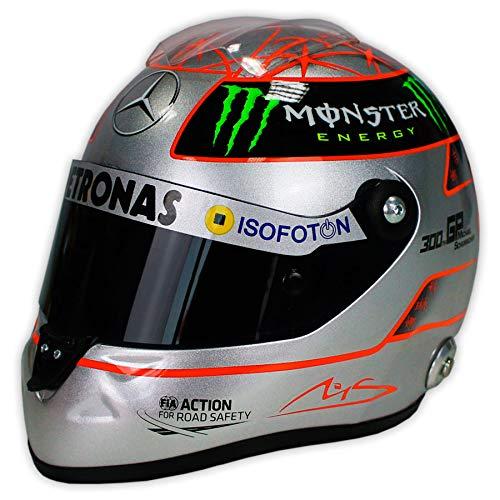 Réplica 1:2 Casco Michael Schumacher 'Mercedes 2012' 300GP