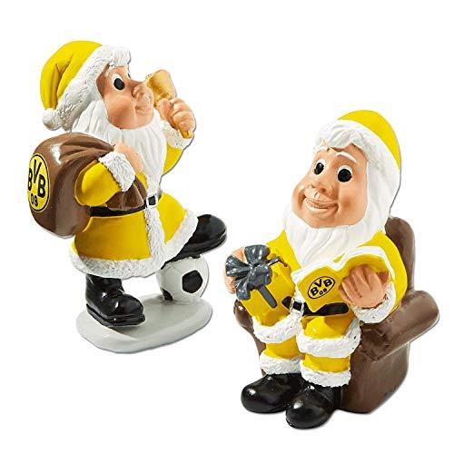 Borussia Dortmund Fanartikel. Die kleinen Nikoläuse kommen im Doppelpack
