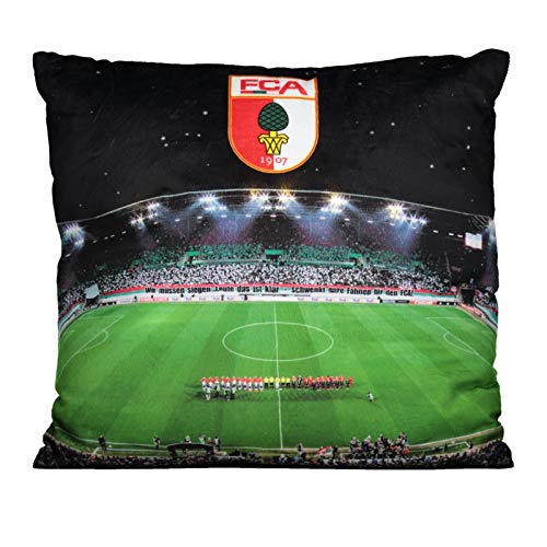 FC Augsburg LED-Kissen 40x40cm