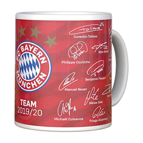 FC Bayern Tasse Signature 2018/19