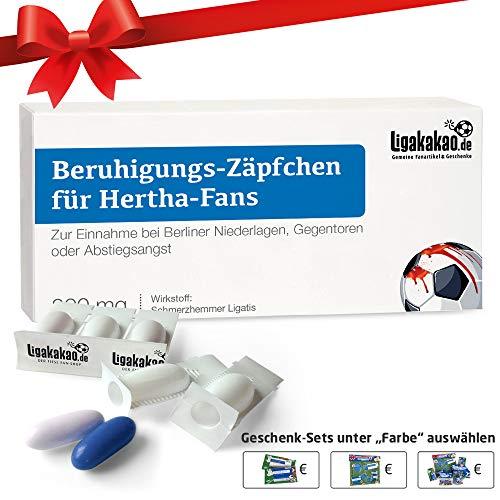 Geschenk männer ist jetzt BERUHIGUNGS-ZÄPFCHEN für Hertha-Fans by Ligakakao.de