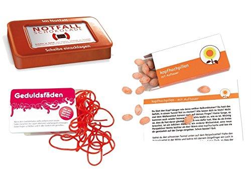 yagma Sei Stark - Gib mir Kraft Notfallpaket (Kopfhochpillen, Geduldsfäden, Notfallschokolade)