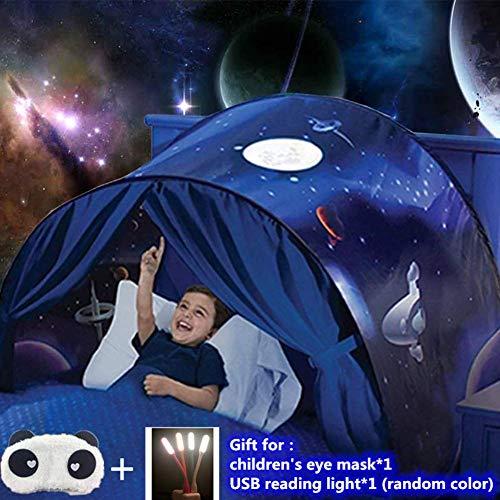 Traumzelt,Bettzelt Tent,Drinnen Kinder,Kid's Fantasy,Kinder Schlafzimmer Dekoration,Geschenke für Kinder (allein Raum)