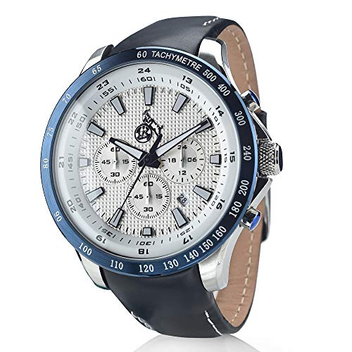 1. FC Köln Chronograph Armbanduhr blau-metallic