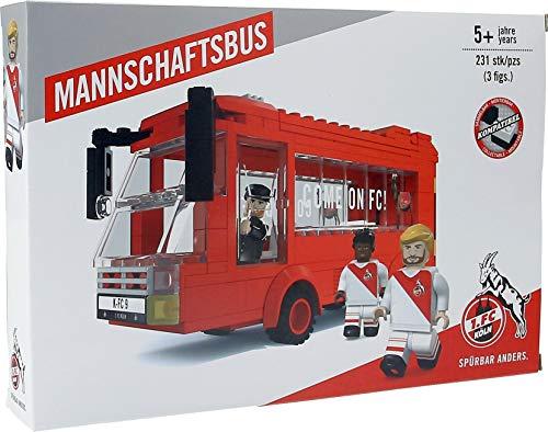 Unbekannt 1. FC Köln Bausatz/Bausteine ** Mannschaftsbus