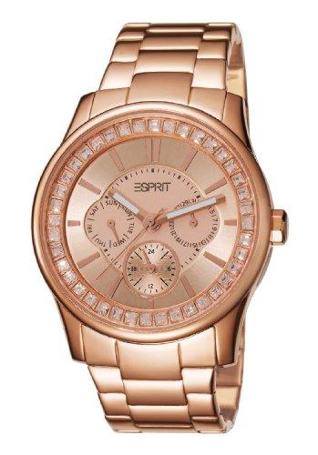Esprit Damen-Armbanduhr Starlite Rose Analog Quarz A.ES105442004
