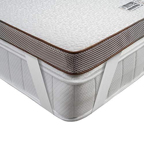 BedStory Matratzentopper 180x200cm, 7,5cm Höhe Gel Visco Topper mit Waschbarem Bezug, Atmungsaktive und Bequeme H2/H3 Memoryschaum Matratzenauflage für Boxspringbett und Unbequeme Betten Schlafsofa