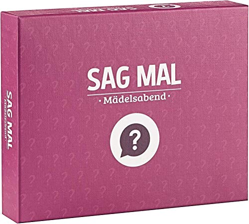 Spielehelden - Sag mal.. Mädelsabend - Dieses lustige Spiel Macht durch die interessanten Fragen jeden Weiberabend großartig - Super als Geschenk für Frauen - tolle Geschenkidee