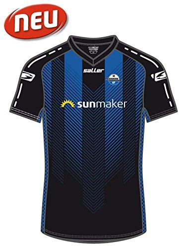 SC Paderborn 07 »Home-Trikot« Saison 2018/2019 370 schwarz-blau Gr. XS