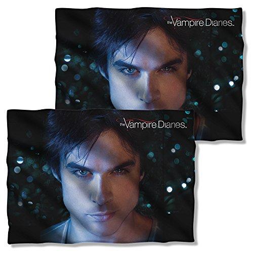 3M Damon Close-Up –-The Vampire Diaries –-Kissen Fall (Front/Back Print)