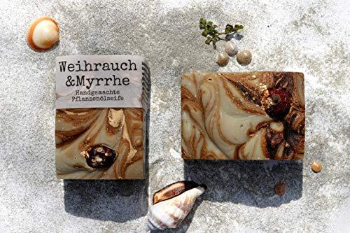 *Weihrauch&Myrrhe* Naturseife handgemacht 120 g