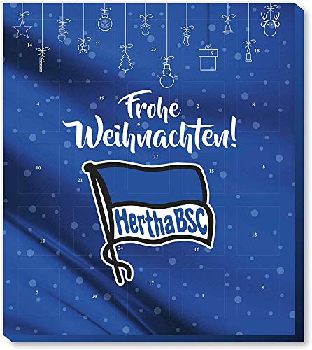 Fan-Shop Sweets Hertha BSC Berlin Premium Adventskalender 2019 (one Size, Multi)