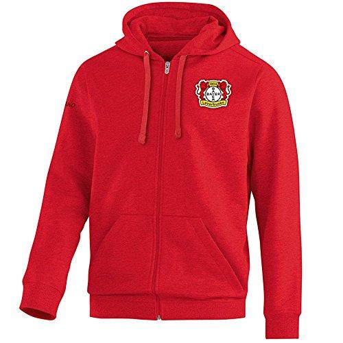 JAKO Bayer 04 Leverkusen Kapuzenjacke Team rot Herren rot, M